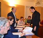 San Adrián acuerda para el campo de fútbol 370.000 €