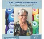 Taller de costura en familia, con la modista Esperanza Vela