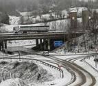 Sábado lluvioso, nieve en cotas bajas y fuertes vientos