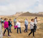 Bardenas batió en 2018 su récord de turistas con casi 77.000 visitantes
