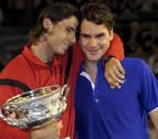 Nadal va a por Federer en Australia