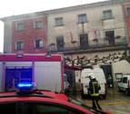 Sofocado un pequeño incendio en el Ayuntamiento de Urroz-Villa