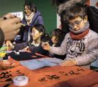 Nuevo año del cerdo para los chinos en Pamplona