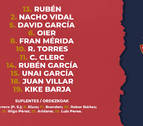 Mérida recupera su sitio en el once titular de Osasuna