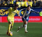 El efecto Calleja no evita el nuevo tropiezo del Villarreal
