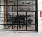 El Ayuntamiento de Pamplona rechaza el ataque contra el Centro LGTBI de Barcelona