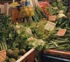 Las heladas 'calientan' la verdura en Navarra