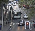 Contabilizan más de 10.000 vehículos al día en la calle Labrit en dirección al centro