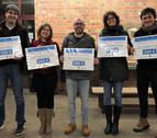 Entrega de premios de la 11ª Campaña Comercial Navideña