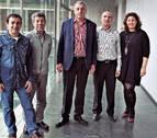 Vecinos de Erripagaña de Pamplona acuden al Parlamento