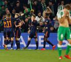 El Valencia ahoga las esperanzas béticas tras remontar
