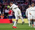 El Real Madrid se reengancha a la Liga con su victoria ante el Atlético en el Wanda