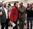 La ministra Valerio reivindica en Pamplona el diálogo como valor de su Gobierno