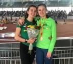 Las navarras Ane Petrirena y Nerea Bermejo pelean por el podio en el Nacional sub-23