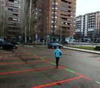 La ampliación de una hora más en la zona roja de Pamplona sorprende a los usuarios