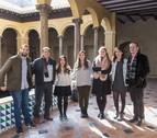 Estudiantes de México se forman en el Hospital Reina Sofía de Tudela