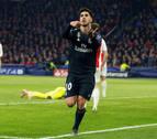 Courtois mantiene vivo al Real Madrid en Ámsterdam