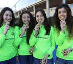 Atletas navarras que acuden con hambre a Antequera
