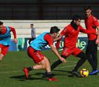 Osasuna juega con 12 en Soria