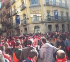 Osasunismo en estado puro en las calles de Soria