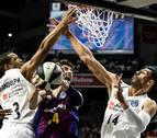 Los árbitros vieron las dos peores imágenes de la final de Copa de baloncesto