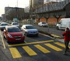 Reabierta, tras cinco meses y de forma provisional, la avenida Pamplona en Barañáin