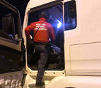 Detenido un camionero francés por conducir ebrio en la N-121A