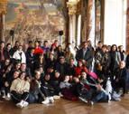 Alumnos de Lumbier, de viaje en Toulouse