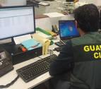 Desarticulada una red nacional de estafas en internet tras una denuncia en Peralta