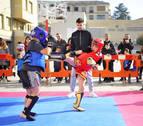 Kickboxing al aire libre