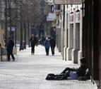 """Denuncian """"inseguridad"""" por la presencia de 'sin techo' en Sarasate"""