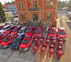 Tres millones para renovar la flota de Policía Foral con la compra de 136 vehículos