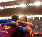 Messi se destapa antes del Clásico con tres goles al Sevilla