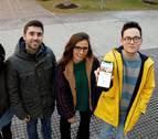 Cuatro estudiantes de la UPNA diseñan una 'app' de lugares para practicar escalada