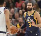 Ricky Rubio lidera el triunfo de los Jazz ante unos Mavericks sin Luka Doncic
