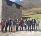 Presentada la restauración del conjunto medieval de la Torre de Ibero en Leitza