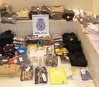 Detenidos dos vecinos de Pamplona por robar ropa de 2.800 euros de su empresa