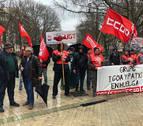 CC OO apuesta por seguir con la huelga en Igoa y Patxi
