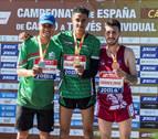 El andaluz Ouassim Oumaiz se convierte en el campeón de España de cross