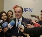 Esparza registra su candidatura a la presidencia de UPN, con Maya e Ibáñez