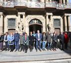 El Ayuntamiento de Pamplona guarda un minuto de silencio por las víctimas del 11-M