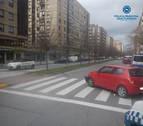 Tres conductores ebrios implicados en accidentes el fin de semana en Pamplona