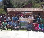 Ayuntamiento de Pamplona y Madre Coraje apoyan a 50 familias en Perú