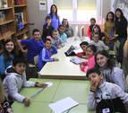 Periodistas digitales desde el aula en Peralta