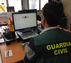 Detenido un hombre acusado de 69 estafas en compraventas por internet