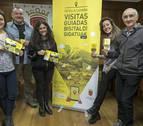 Colectivos y empresas locales guían por Estella a través de siete visitas temáticas