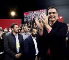 """Pedro Sánchez asegura que el PSOE es """"el único foralista en Navarra"""""""