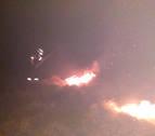 Dos incendios de vegetación en Goizueta afectan a una superficie de 17 hectáreas