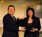 Josefa Márquez Sánchez, mejor vendedora de la ONCE 2018 en Navarra