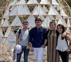 Cuatro estudiantes de la UN participan en un festival de arquitectura de México